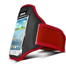 RED Sport GYM Armband Case Cover for Various Mobile Cell Phones Phablet 2013