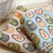 MATRYOSHKA 2 COLOR 1YARD QUILTING CRAFTS UPHOLSTERY NEW FABRIC 100%COTTON
