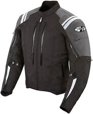 *Ships Same Day* JOE ROCKET Atomic 4.0 (Black/Grey) Waterproof Textile Jacket