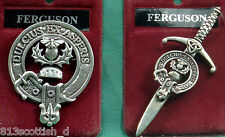 Ferguson Scottish Clan Crest Badge or Kilt Pin Ships free in US