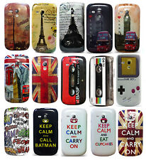 Great London Design Hard Skin Back Case Cover For Samsung Galaxy S3 Mini i8190