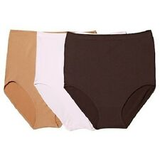 "RHONDA SHEAR 3Pk ""Ahh"" High-Waist Seamless Brief 177234 & 177234-A CLEARANCE $15"