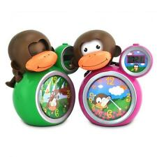 Baby Zoo MoMo Monkey Children's sleep trainer and alarm clock - GREEN or PINK