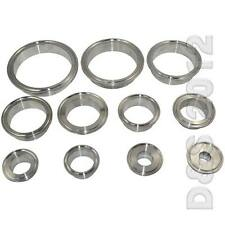 """19MM-102MM 3/4""""-4"""" OD Sanitary Weld on Ferrule Tri Clamp Stainless Steel SS316"""