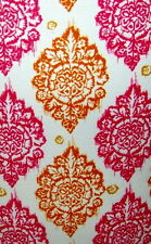 Pink Orange Damask Medallion Print Light Switch Plates Electrical Outlet Covers