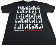 Mens NEW The Beatle Hard Day's Night Gray Logo Graphic T-Shirt Size S L XL