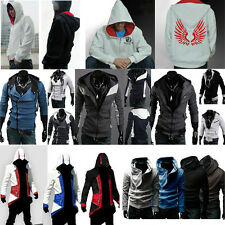 New Assassin's Creed 3 Desmond Miles Connor Hoodie Jacket Costume Cosplay Coat