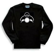 TON UP CAFE RACER RIDER CLASSIC MENS LONGSLEEVE SHIRT S-2XL TRIUMPH LONG SLEEVE