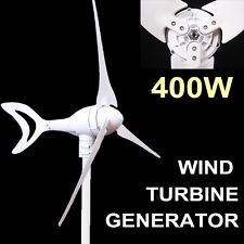 400W WIND TURBINE GENERATOR NATURAL ENERGY MAX ELECTRICITY ECO-FRIENDLY GREAT