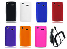 Car Charge + Cover Case for Samsung Captivate Galaxy S SGH-i897 SGH-I896 Phone