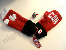 Sochi 2014 HBC Hudson's Bay Company CANADA Olympic red mittens Adult (S/M, L/XL)