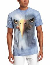 Eagle Head Face Authentic The Mountain Adult T-Shirt