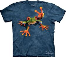 Victory Frog Authentic The Mountain Adult T-Shirt