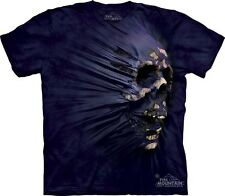 Side Skull Breakthrough Authentic The Mountain Adult T-Shirt