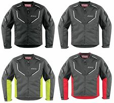 Icon Citadel Mesh Motorcycle Riding Jacket w/ D3O Armor Protection ALL SIZES