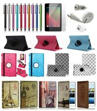 leather Case Cover for 2013 New Google Nexus 7 FHD 2nd Gen free film