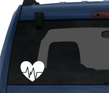 Fitness Gym Art #4 - Heart Rate Health Diet Exercise - Car Tablet Vinyl Decal