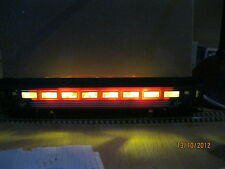 DC coach lighting unit with LED strips gauge OO upwards