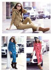 women Autumn/winter fashion popular design hoodies three-piece Sport Suit 3color