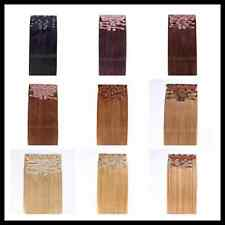 """Deluxe 26"""" Indian Remy Full Head Human Hair Clip In Extensions 9pcs & 220g"""