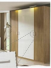 RAUCH YUMI-BASE HINGED DOOR WARDROBE WITH APPLICATION FINISH W91CM - 2 DOOR