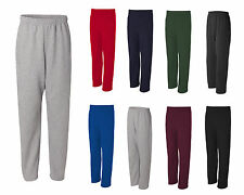 JERZEES NuBlend Open Bottom Pocketed Sweatpants, Mens sizes S-3XL (974MPR)