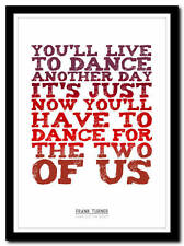 FRANK TURNER - Long Live the Queen 2 - song lyric poster art print - 4 sizes