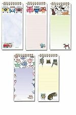 SHOPPING LIST MAGNETIC NOTEPAD MESSAGES PAD KITCHEN STATIONERY MEMO