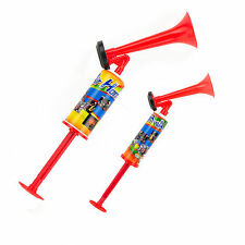 Hand Held Air Horn Pump Super Loud Noise Maker Safety Parties Sports Events Lot