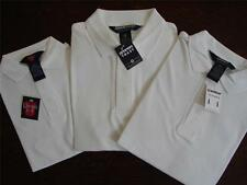 New School Uniform White Polo Shirt Size 6-7 18  NWT