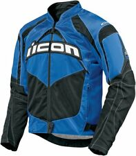*FAST SHIPPING* ICON Contra (Blue) Motorcycle Jacket SPORT FIT