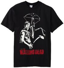 The Walking Dead Daryl Dixon Crossbow Officially Licensed AMC Adult T-shirt