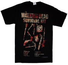 The Walking Dead Survival Kit Zombie Officially Licensed AMC Adult T-shirt