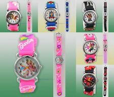 20-Style 1PCS BarbieGirl Small Minnie Mouse Children Wrist Watch Xmas gift Gn-07