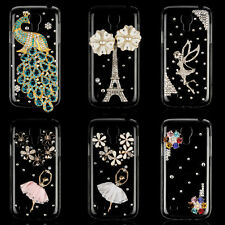 Luxury Crystal Bling Rhinestone Hard Case Cover for Samsung Galaxy S4 Mini i9190
