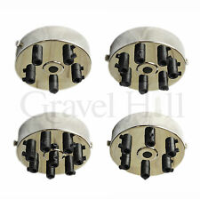 NICKEL SILVER Ceiling Rose Multi Outlet with CORD GRIP 1 2 3 4 5 6 7 Way Outlet