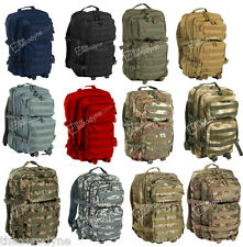 ZAINO INCURSORE TATTICO MOLLE LARGE US ASSAULT BACKPACK Militare SoftAir Scout