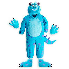 Disney Store Deluxe Sulley Monsters Inc Plush Costume jumpsuit NEW XS 4 Sully