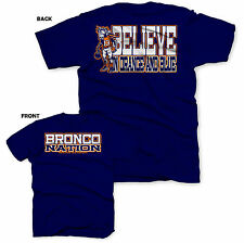 Denver Broncos Shirt - Peyton Manning Jersey - Broncos Country - Broncos Nation