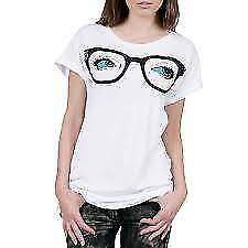 ABBEY DAWN BY AVRIL LAVIGNE PEEPERS TEE T SHIRT WHITE GOTH PUNK ROCK