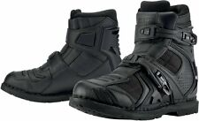 *Fast Shipping* ICON Field Armor 2 Boot (Black) Motorcycle Boots