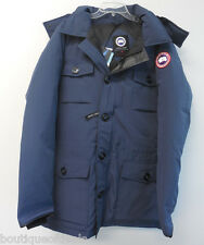 Canada Goose Men's Banff Parka Jacket Spirit Blue 4074M New & Authentic Coat