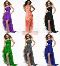 STOCK 6 Color Betiful Chiffon Cocktail Bridesmaid Party Dress Gown Size 6-16