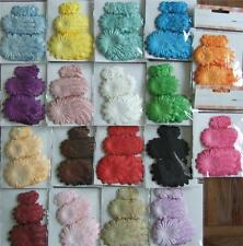60 Paper Flowers 3 Sz Mixed Colours Wedding Invitations Scrapbooking YOU CHOOSE