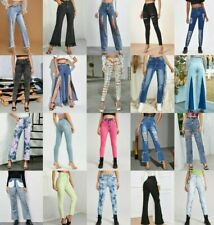 Lot New Women Skinny Straight Boot Cut Stretch Denim Jeans 0 1 3 5 7 9 11 13