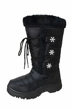 NEW! Women's Winter Mid Calf Snow Boots Soft Faux Fur Insulated Water Resistant