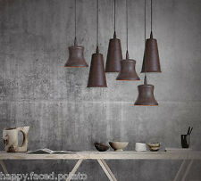 RUSTIC VASE lamp shade industrial pendant ceiling light chandelier CAFE HOME E27