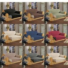 10 Color MICROFIBER PET DOG KIDS SLIP COVER SOFA CHAIR LOVESEAT PROTECTOR