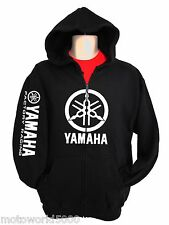 Yamaha Racing Sweatshirt Zipper Zip-up Hoody Motorcycle YZ 250 450 R1 R6 Raptor