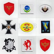 GUNDAM Military Tactical Morale Embroidery Velcro Patch Badges Series 1